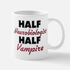 Half Neurobiologist Half Vampire Mugs