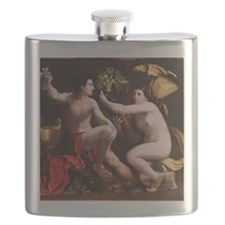 Allegory of Fortune by Dosso Dossi 1530 Flask