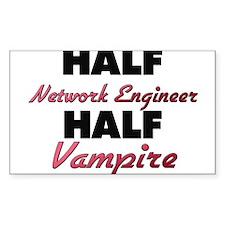 Half Network Engineer Half Vampire Decal