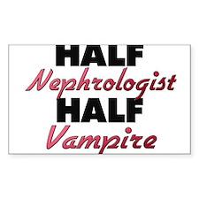 Half Nephrologist Half Vampire Decal