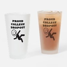 DROPOUT Drinking Glass