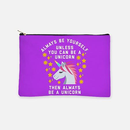 Always Be Yourself Unicorn Makeup Bag