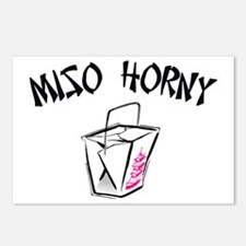 Miso Horny Postcards (Package of 8)