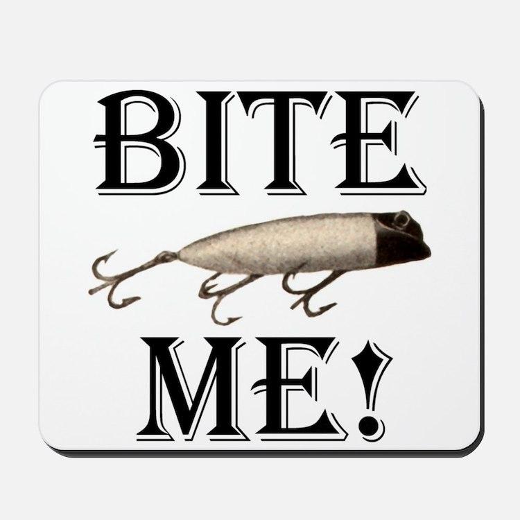 BITE ME! Mousepad