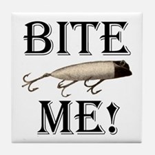 BITE ME! Tile Coaster