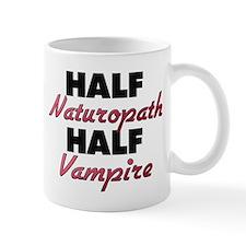 Half Naturopath Half Vampire Mugs