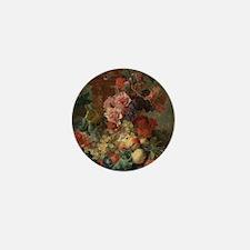 Fruit Piece by Jan van Huysum 1722 Mini Button