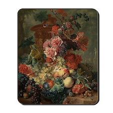 Fruit Piece by Jan van Huysum 1722 Mousepad