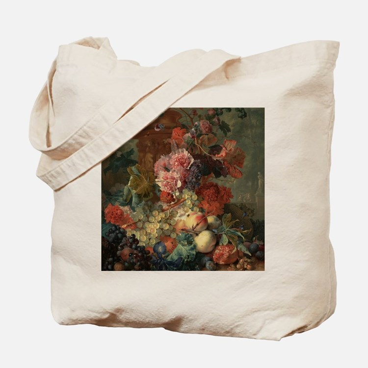 Fruit Piece by Jan van Huysum 1722 Tote Bag