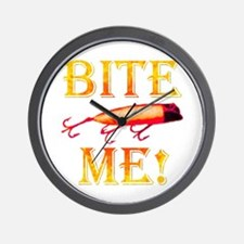 Bite Me! Wall Clock