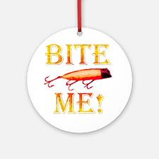 Bite Me! Ornament (Round)