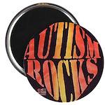 "Autism Rocks 2.25"" Magnet (10 pack)"