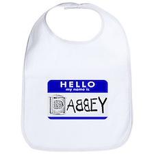 Hello, my name is Abbey Bib