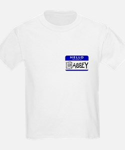 Hello, my name is Abbey Kids T-Shirt
