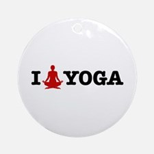 Yoga Ornament (Round)