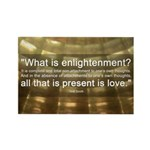 What is Enlightenment | Rectangle Magnet