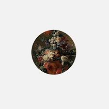 Vase of Flowers by Jan van Huysum 1722 Mini Button