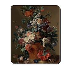 Vase of Flowers by Jan van Huysum 1722 Mousepad
