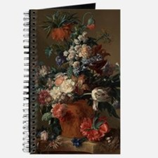 Vase of Flowers by Jan van Huysum 1722 Journal