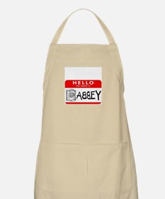 Hello, my name is Abbey BBQ Apron