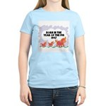 1947 Year Of The Pig Women's Pink T-Shirt
