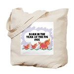 1935 Year Of The Pig Tote Bag