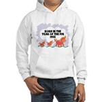1935 Year Of The Pig Hooded Sweatshirt