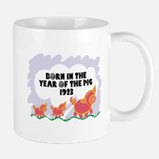 1923 Year Of The Pig Mug