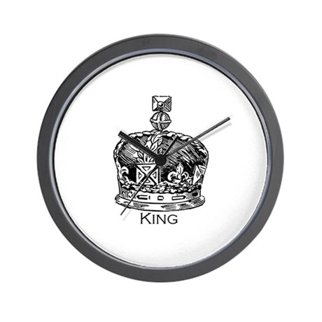 King of the Castle Wall Clock