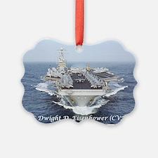 USS Dwight D. Eisenhower (CVN69) Ornament