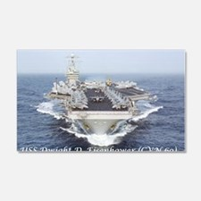 USS Dwight D. Eisenhower (CVN69) Wall Decal