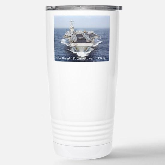 USS Dwight D. Eisenhower (CVN69) Travel Mug