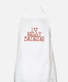 I Love Belly Dancing BBQ Apron