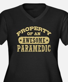 Property of an Awesome Paramedic Women's Plus Size