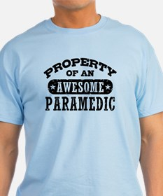 Property of an Awesome Paramedic T-Shirt