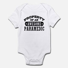 Property of an Awesome Paramedic Infant Bodysuit