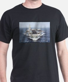 USS Dwight D. Eisenhower (CVN69) T-Shirt