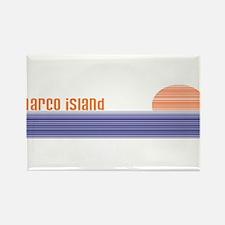 Unique Marco island florida Rectangle Magnet (10 pack)