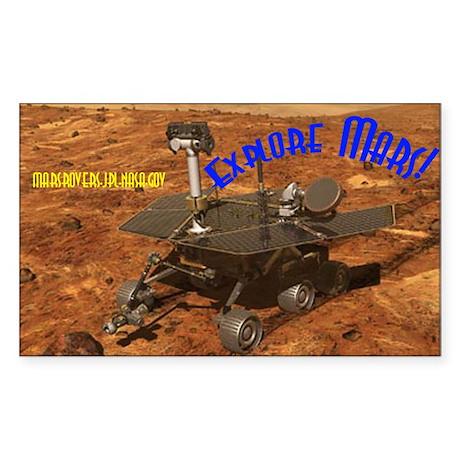 Mars Rover Sticker