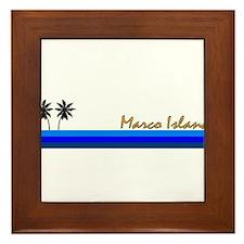 Unique Marcos Framed Tile