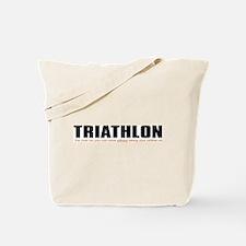 """Triathlon Fun"" Tote Bag"