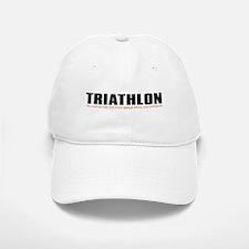 """Triathlon Fun"" Baseball Baseball Cap"