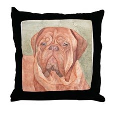 male ddb Throw Pillow
