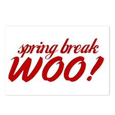 Funny Spring break Postcards (Package of 8)