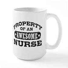 Property of an Awesome Nurse Mug