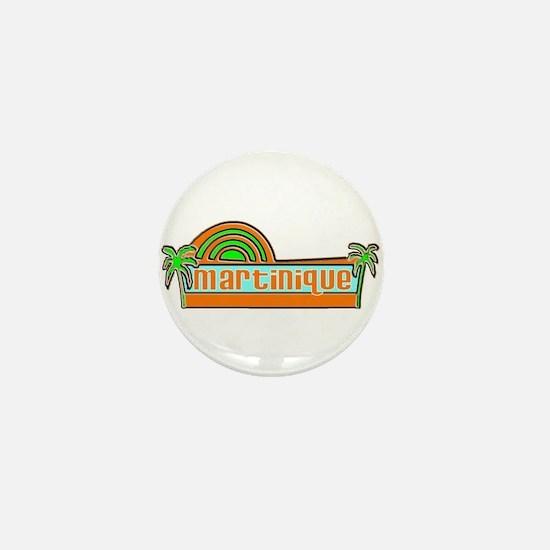 Cute Martinique Mini Button
