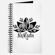 Namaste BW Lotus Journal