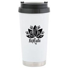 Namaste BW Lotus Travel Mug