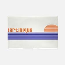 Cute Martinique Rectangle Magnet
