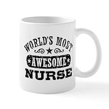 World's Most Awesome Nurse Mug